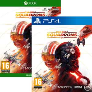 Star Wars Squadrons sur PS4 ou Xbox One
