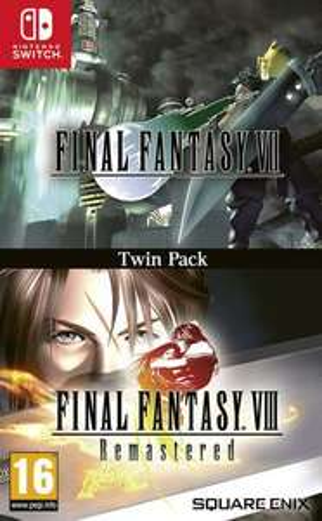 Final Fantasy VIIetFinal Fantasy VIII Remastered sur Nintendo Switch