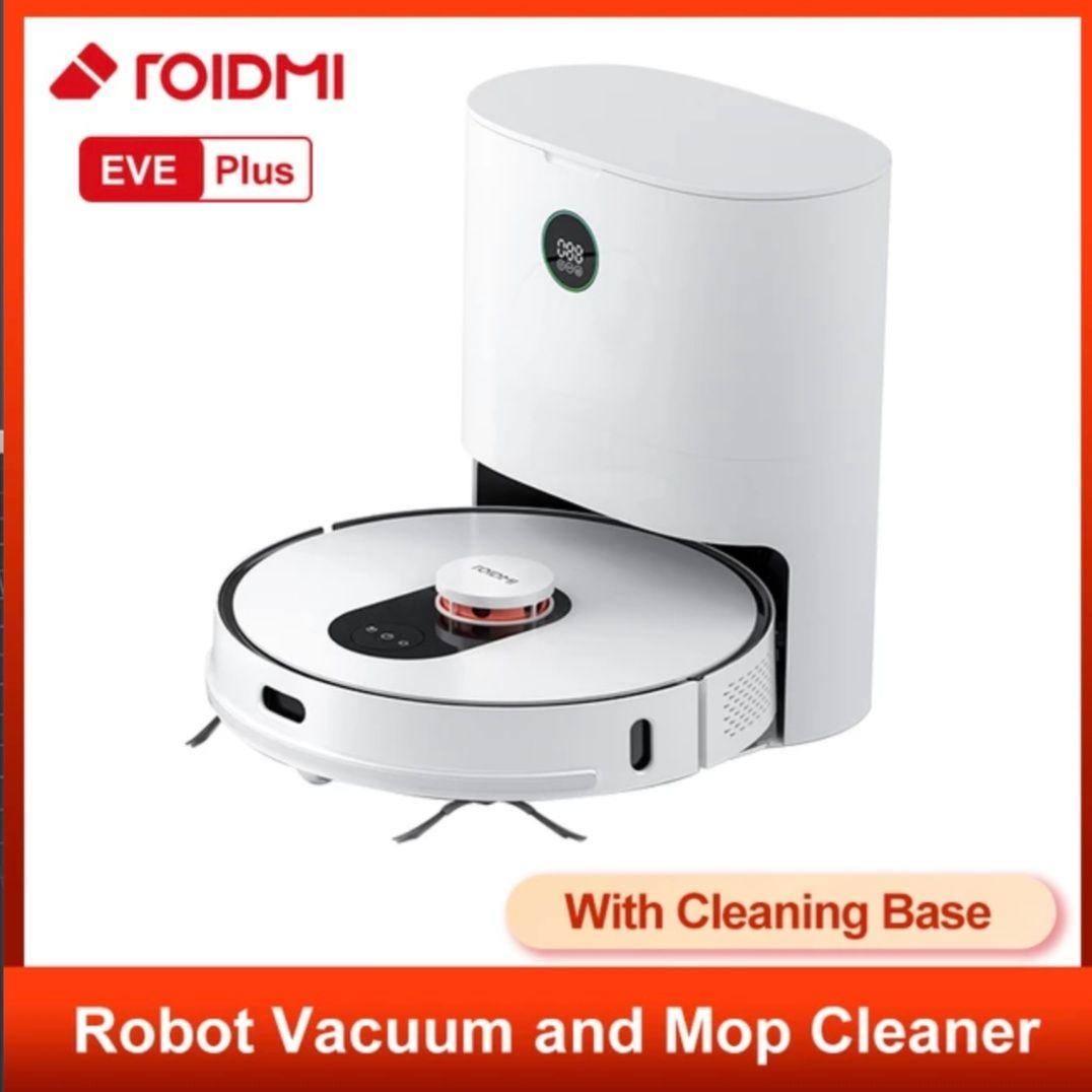 Robot aspirateur/nettoyeur Roidmi Eve Plus (268,85€ avec le code SUPER32840)