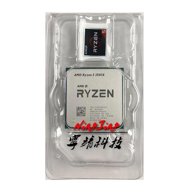 Processeur AMD Ryzen 5 3500X - 3.6 GHz, Mode Turbo à 4.1 GHz (105.46€ via DEALABS32815)