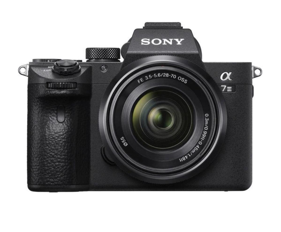 Appareil photo hybride Sony Alpha 7 III + Objectif 28-70mm (Frontaliers Suisse)