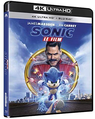 Blu-ray 4K UHD Sonic, le film (+ Blu-ray)