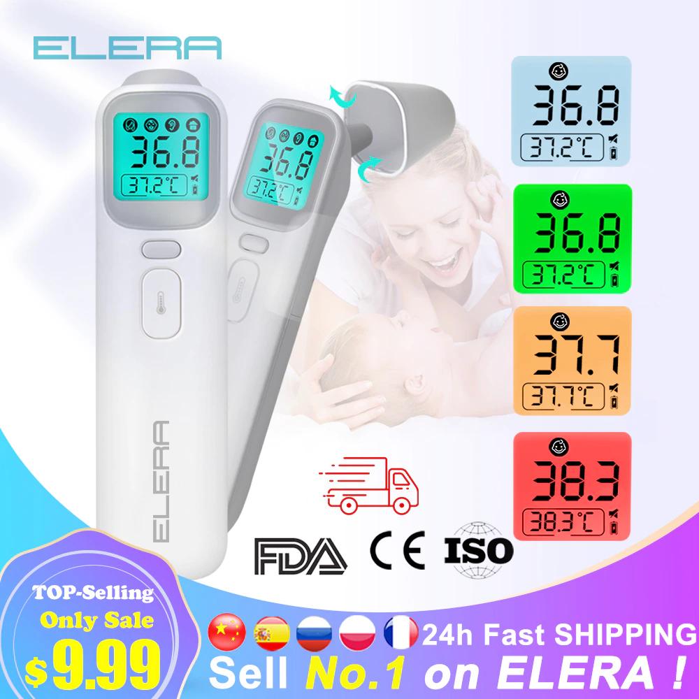 Thermomètre frontal infrarouge Elera Smart