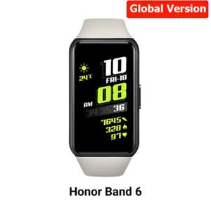 "Bracelet connecté 1.47"" Honor Band 6 - argent, version CN"