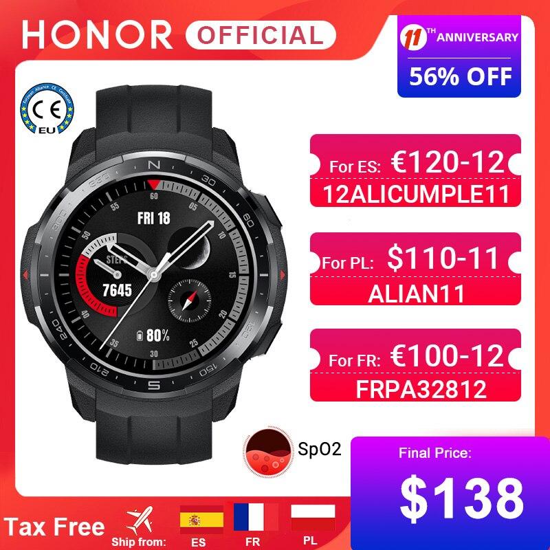 Montre connectée Honor Watch GS Pro (117.44€ via FRPA32812)