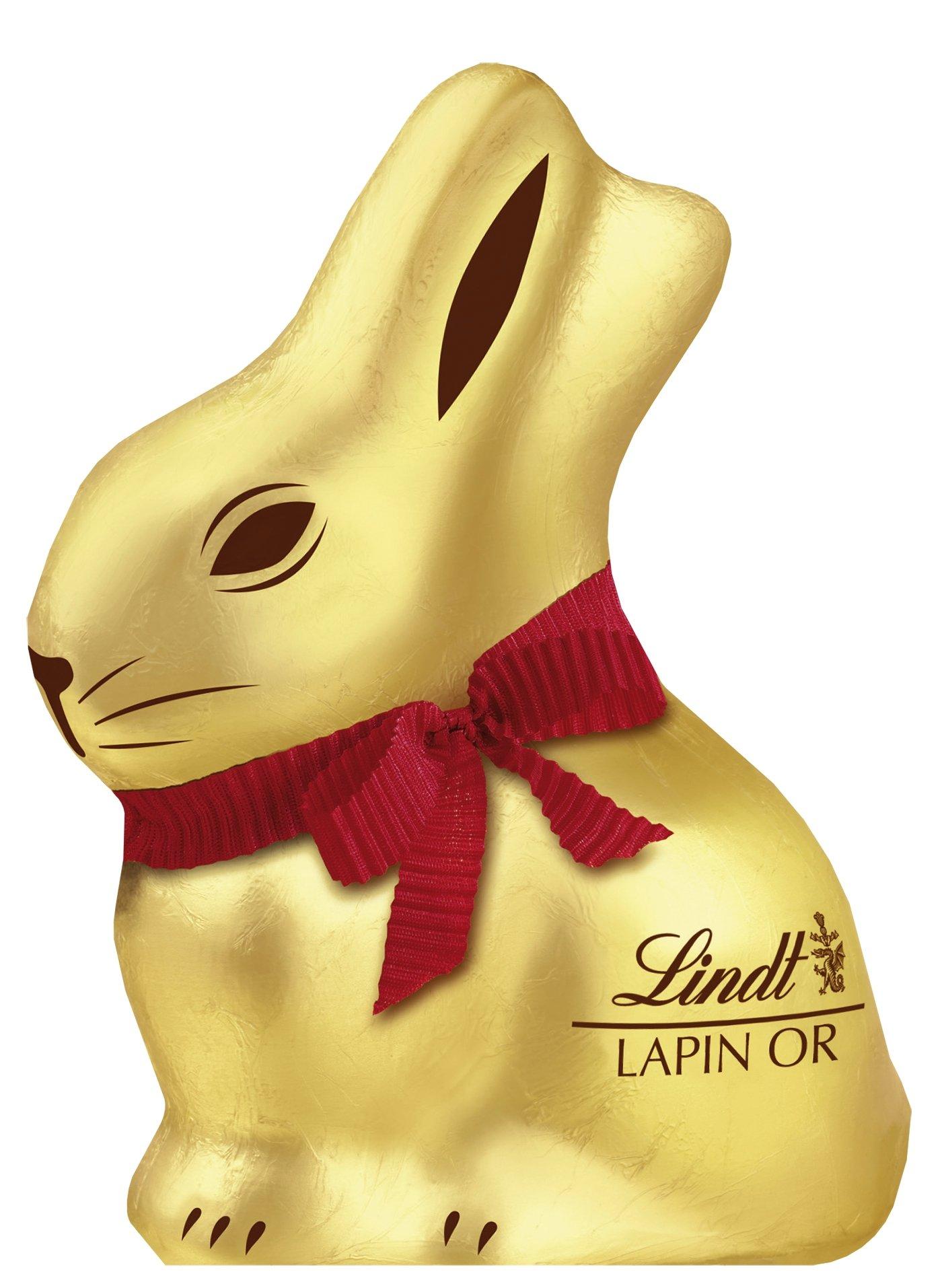 Un lapin or Chocolat Lindt - 50g (100% remboursé)