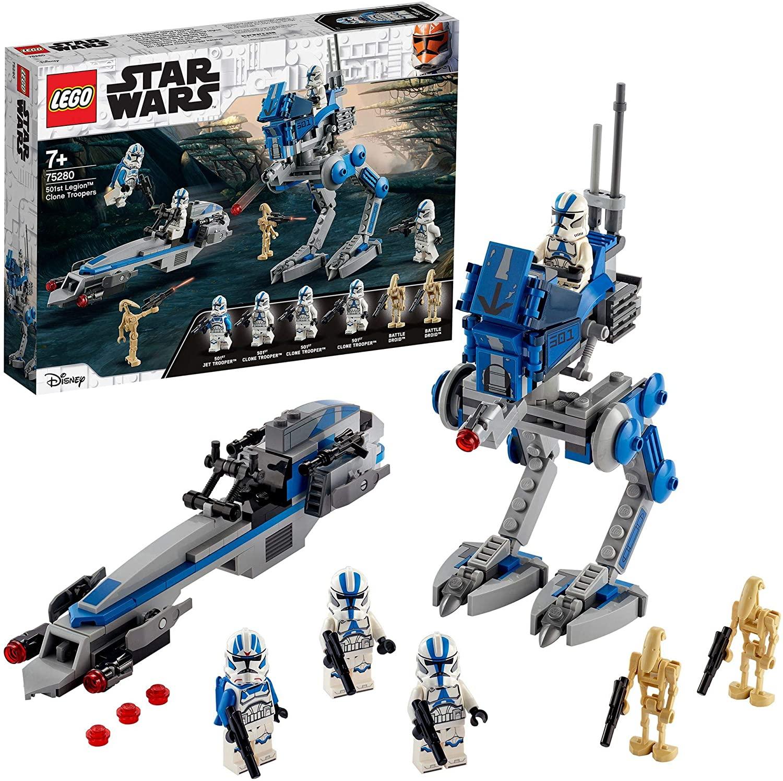 Lego Star Wars 75280 - 501ème légion et Marcheur at-RT
