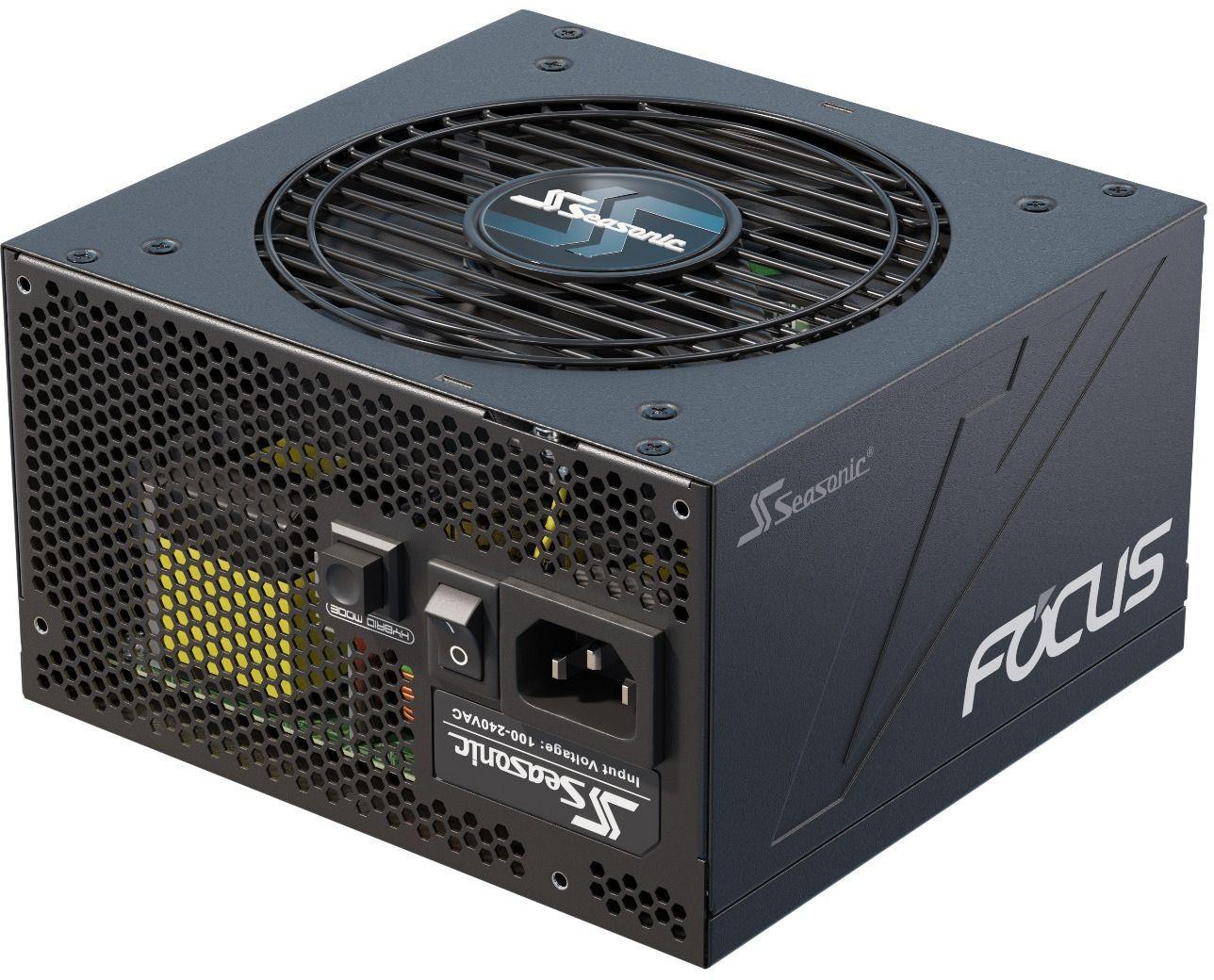 Bloc d'alimentation PC modulaire Seasonic Focus GX-550 - 80Plus Gold, 550 W