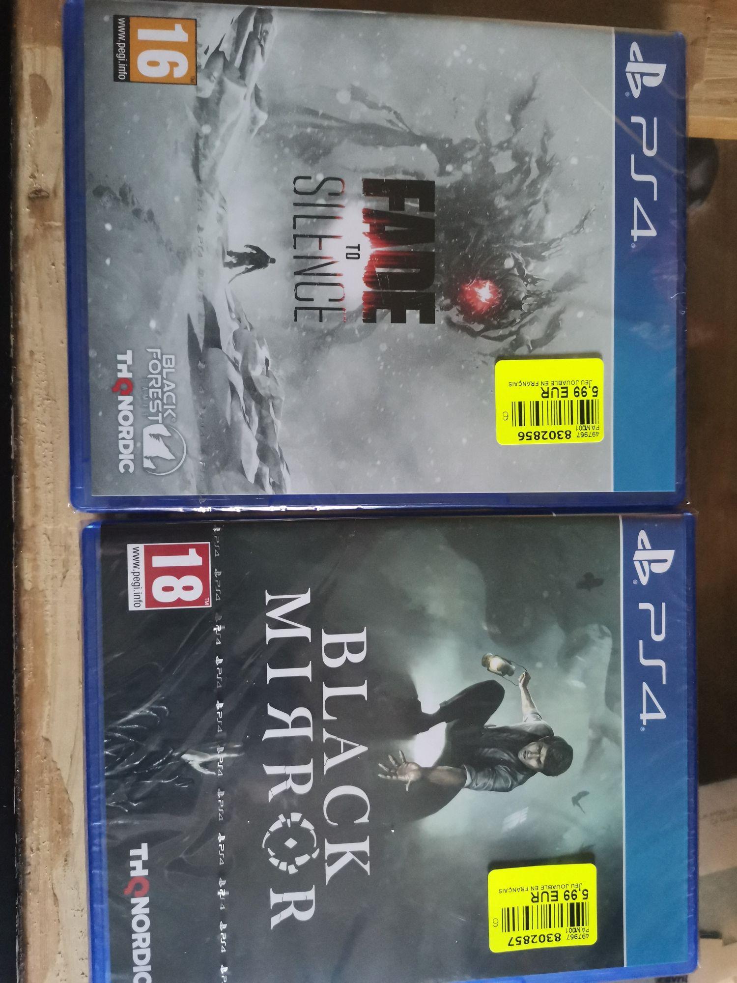 Sélection de jeux vidéo sur PS4 et Xbox One à 5.99€ - Ex : Black Mirror ou Fade to Silence