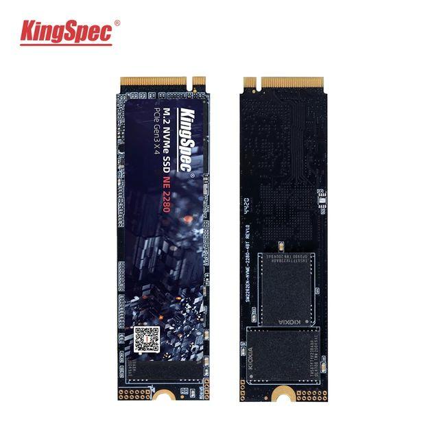 SSD interne M.2 NVMe KingSpec Gen 2 - 1 To (74.75€ via le code FRPA32807)
