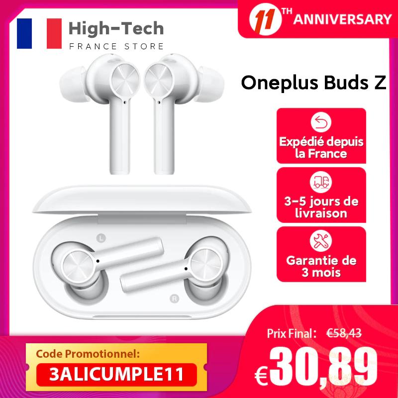 Ecouteurs sans fil OnePlus Buds Z (Entrepôt France)