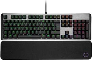 Clavier Gamer mécanique Cooler Master CK550 V2 (Gateron Red) - Qwerty