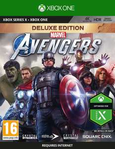 Marvel's Avengers Deluxe Edition sur Xbox One (import UK)