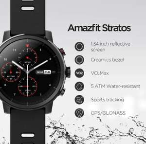 Montre Connectée Amazfit Stratos (67,72€ via FRPA32807)