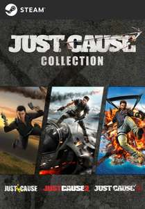 Just Cause Collection sur PC (Dématérialisé - Steam)