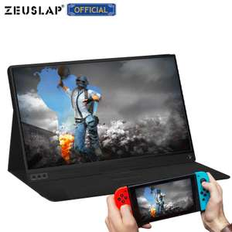 "Ecran portable 15,6"" Zeuslap - Full HD, Dalle IPS, LED, USB-C, HDMI (84,77€ via Code FRPA32807)"