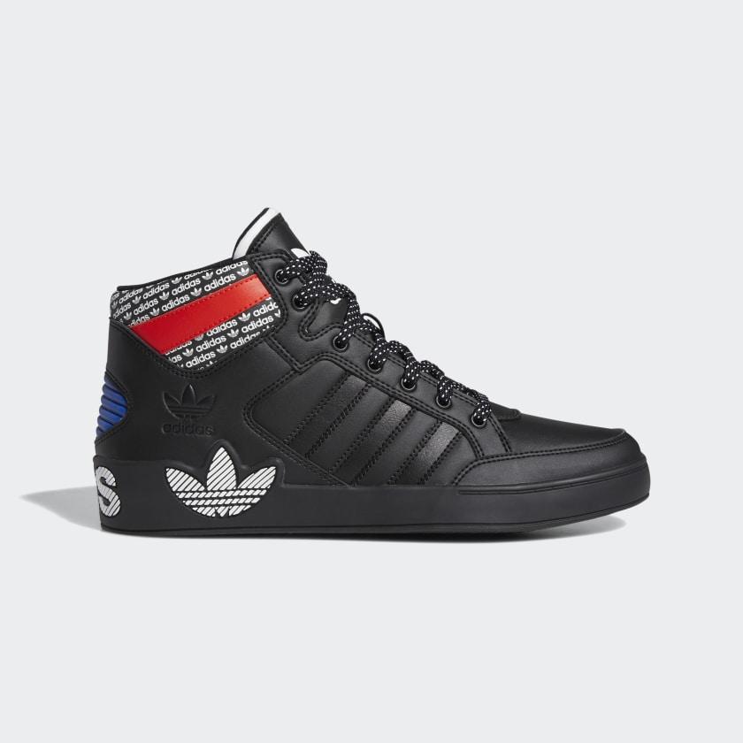 Chaussures pour femme adidas Hardcourt Hi - noir/rouge (du 42 au 47 1/3)