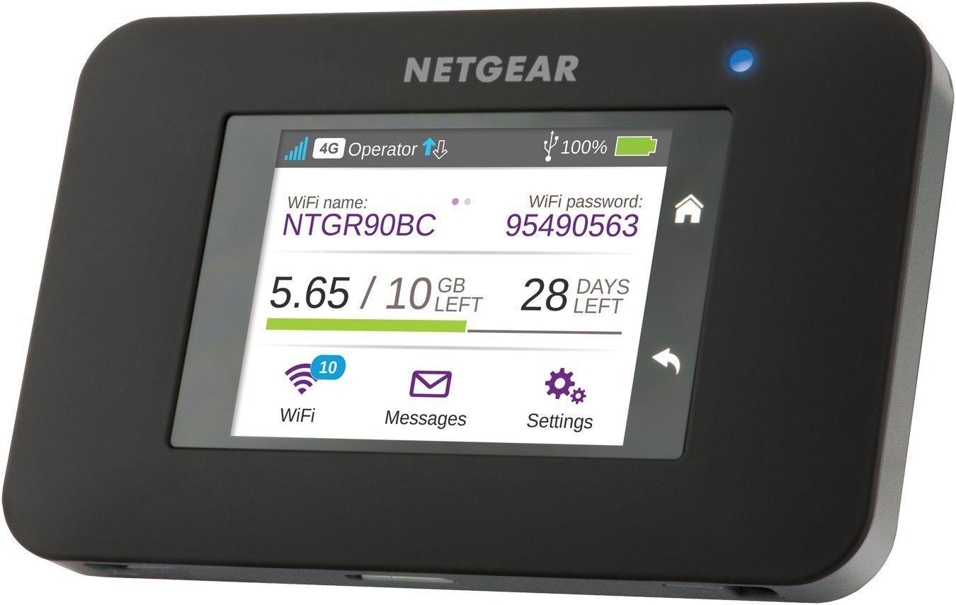 Hotspot Mobile Netgear AC790-100EUS 4G+ LTE - Écran Tactile, Fonction SMS et Powerbank