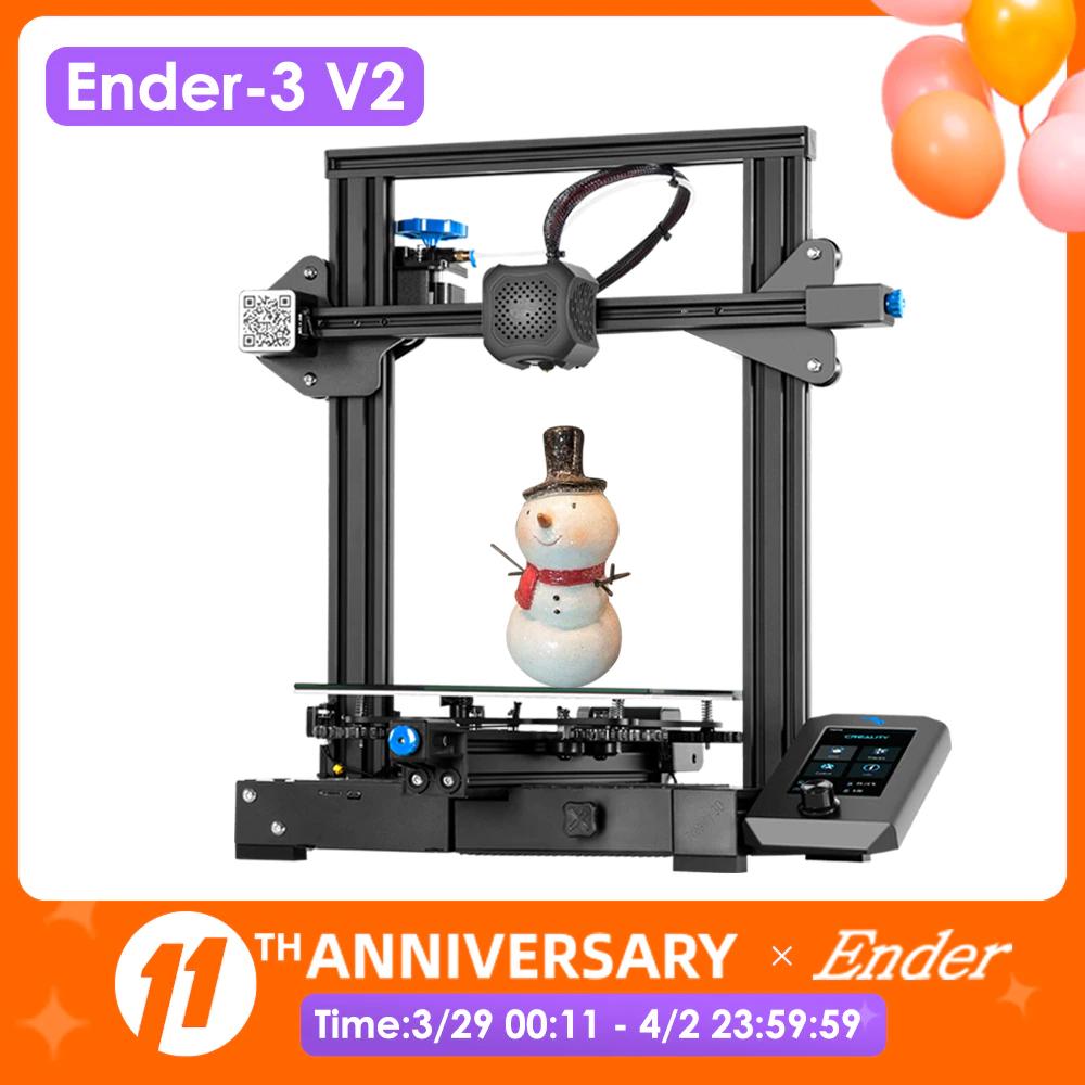 Imprimante 3D Creality Ender 3 V2 - Entrepôt France (167,69€ via PASSION20)