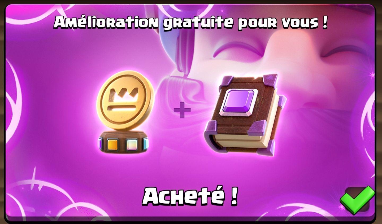 Items Écu Magique + Livre des Cartes offerts pour Clash Royale (dématérialisés)