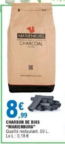 Sac de charbon de bois Marienburg - 50L