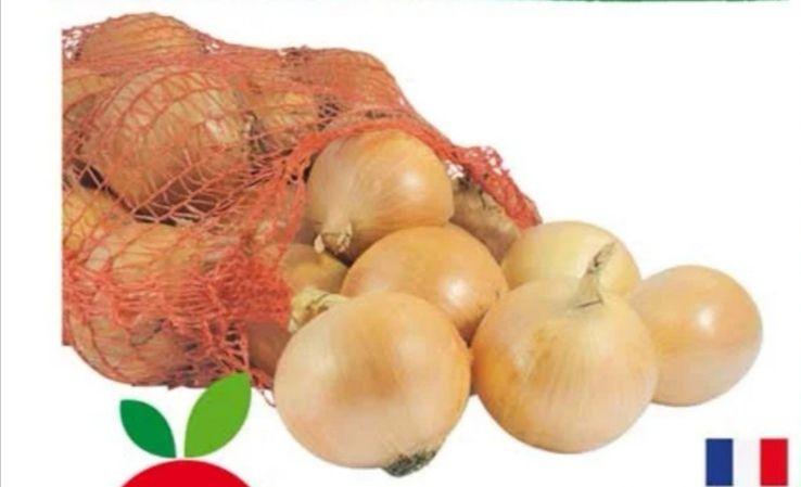 Filet de 2 kg d'oignons jaune - Catégorie 1, Origine France (2 kg)
