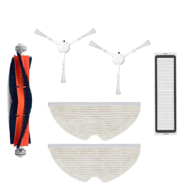 Kit de 6 accessoires de rechange pour aspirateur robot Dreame D9