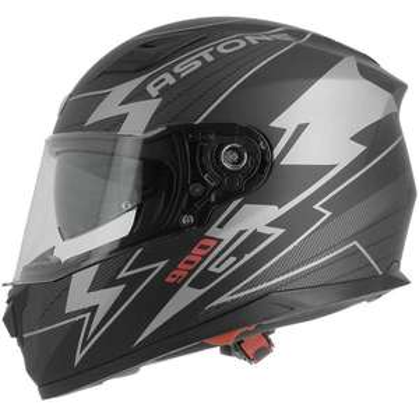 Casque moto Astone Arrow GT900 - Blanc ou Noir (outletmoto.com)
