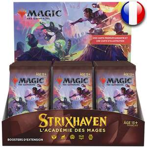 [Précommande] Boite de 30 boosters d'extension Magic The gathering Strixhaven (asgardtcg.fr)