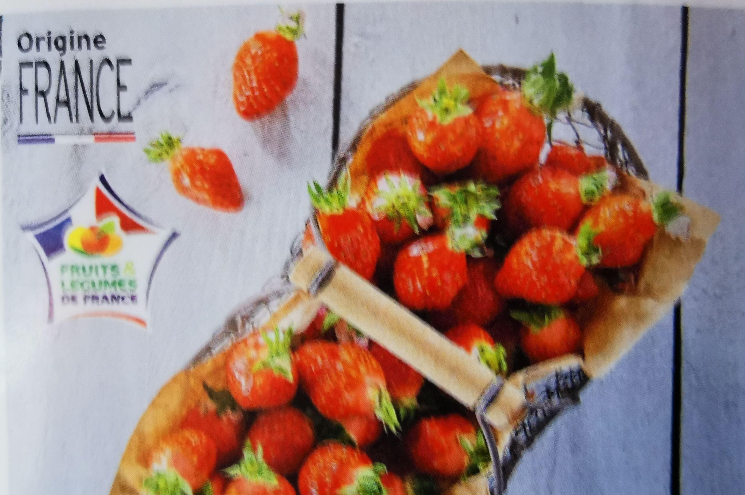 Lot de 2 barquettes de fraises Gariguette - 2x250g, catégorie 1, origine France