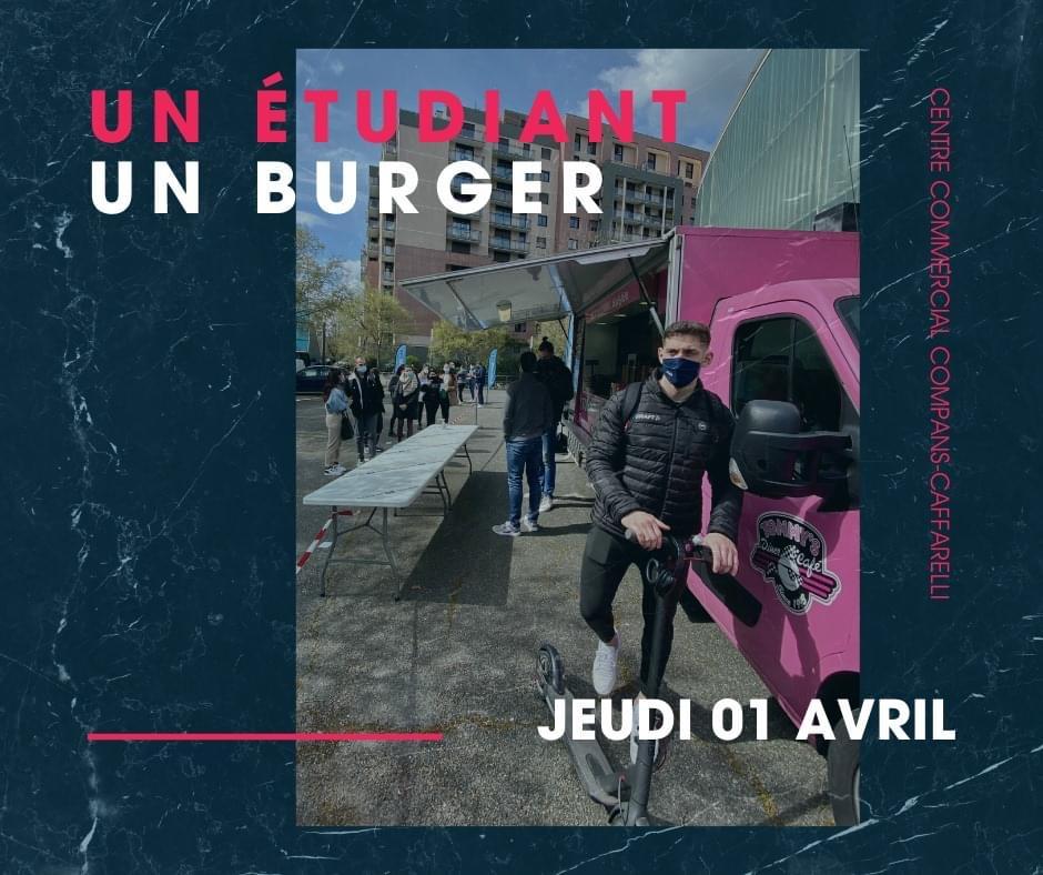 [Etudiants] Distribution gratuite de menus burgers - Toulouse (31)