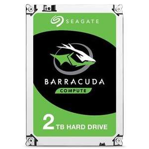 "Disque dur interne 3,5"" Seagate BarraCuda ST2000DM008 - 2 To, 7 200 tr/min (Vendeur Tiers)"