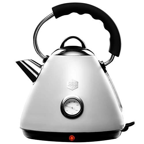 Bouilloire électrique OBH Nordica - Design vintage rétro et élégant (vendeur tiers)