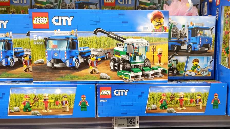 Jeu de Construction Lego City 60223 Transport de l'ensileuse - Corbeil-Essonnes (91)