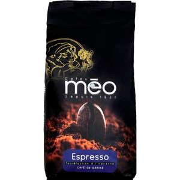 Café espresso en grains Méo - 1Kg