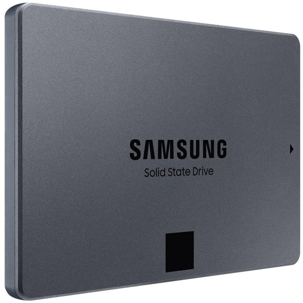 "SSD interne 2.5"" Samsung 870 QVO - 1 To (69.99€ avec RAKUTEN10 + 2.10€ en RP - 870 EVO à 76.99€ + 2.31€ en RP) - Vendeur Boulanger"
