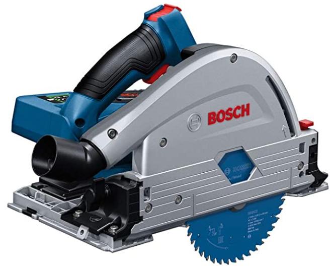 Scie plongeante sans-fil Bosch Professional BITURBO GKT 18 V-52 GC avec LBOXX (Sans batterie)