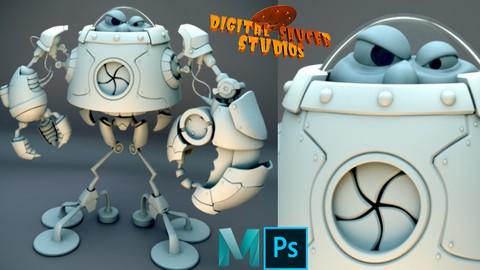 Cours en ligne sur le logiciel 3D Maya Gratuit (Dématérialisé - en Anglais)