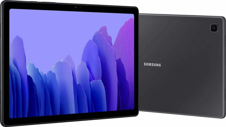 """Tablette 10,4"""" Samsung Galaxy A7 Wi-Fi (2020) - 32 Go, Gris"""