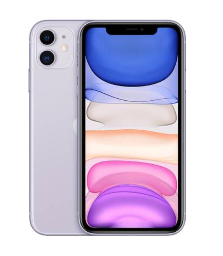 """Smartphone 6.1"""" Apple iPhone 11 - 64 Go, Violet (vendeur tiers)"""