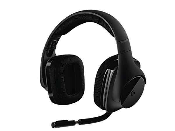 Casque-micro gaming sans fil Logitech G533 - Surround 7.1, DTS Headphone:X