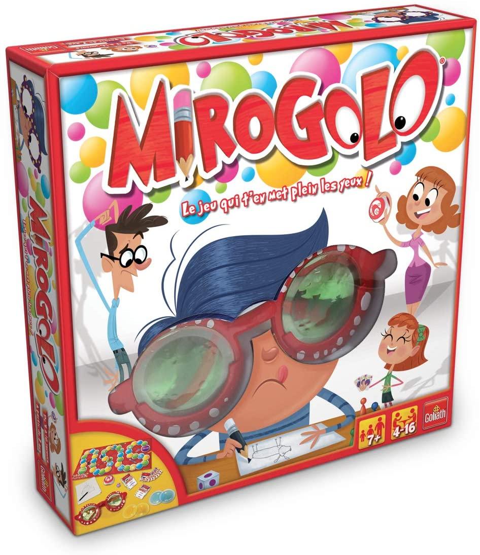 Jusqu'à 40€ remboursés sur une sélection de jeux de société Goliath - Ex: Mirogolo + Carlo Crado + A vos Marques (via ODR 40€)