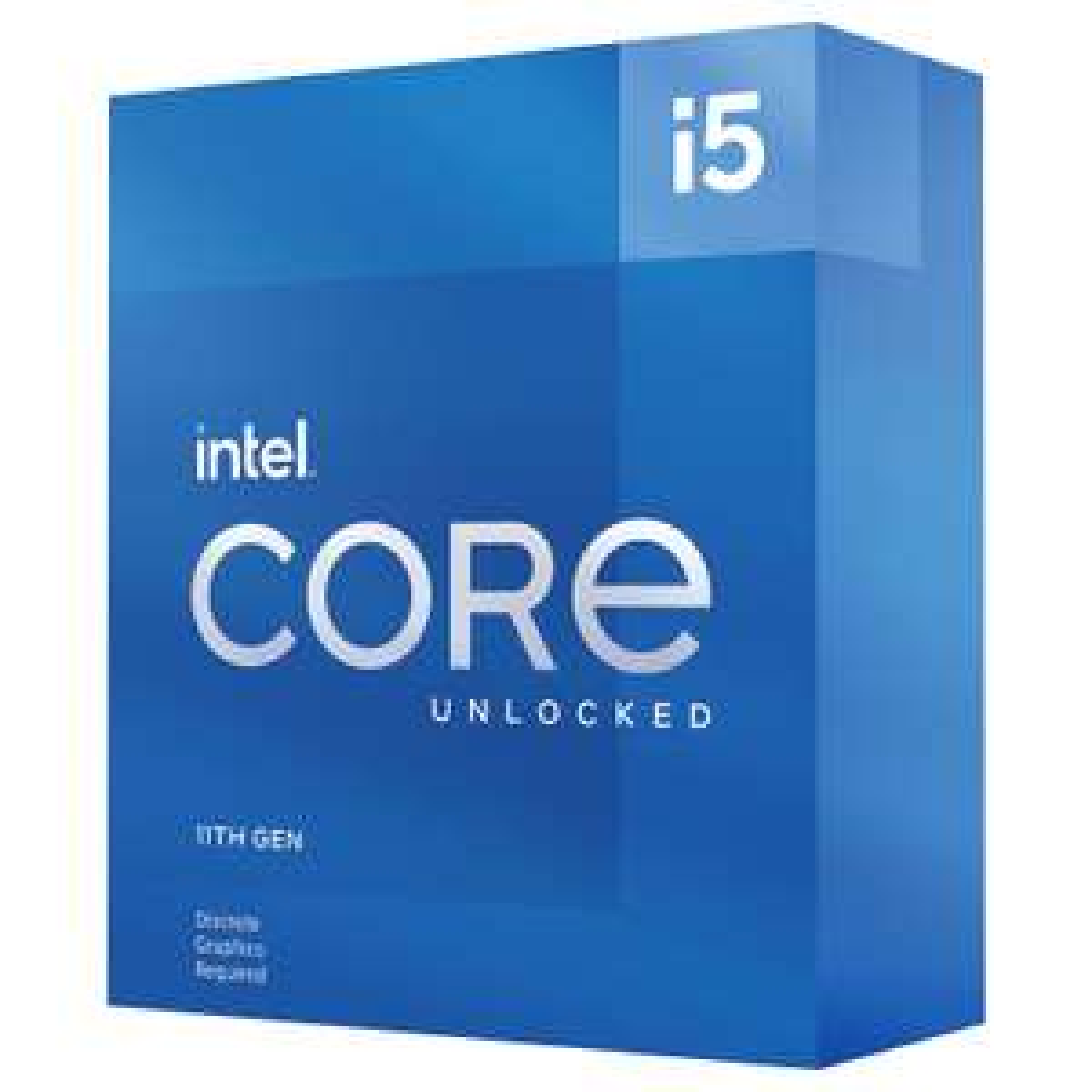 Processeur IntelCore i5-11600KF - 3,9 GHz