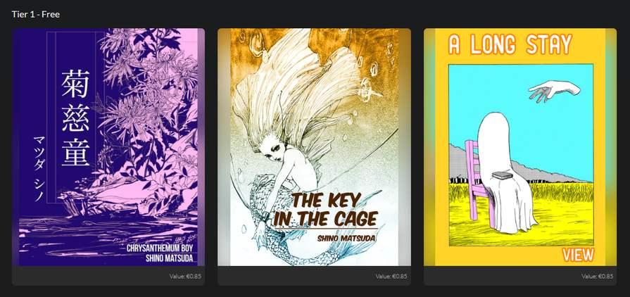 Bundle: 3 Comics Medibang Gratuits (Dématérialisés - EPUB / PDF - Anglais)