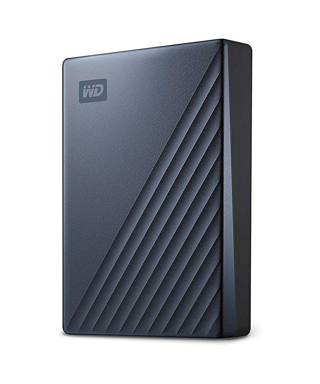"Disque sur externe 2,5"" WD - My Passport Ultra 5To Bleu USB-C"