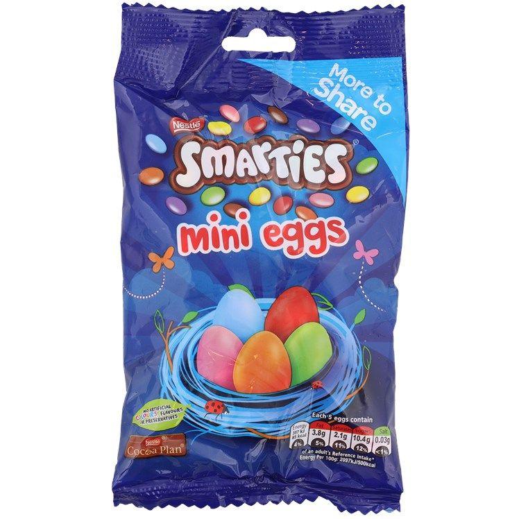 Sachet de 240g de Smarties Mini-œufs Nestlé (240g)