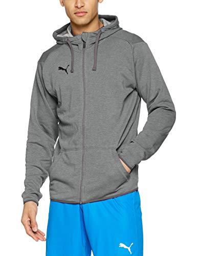 Veste à capuche Puma Liga Casual Hoody Jacket pour Homme - Gris, Tailles L & XL