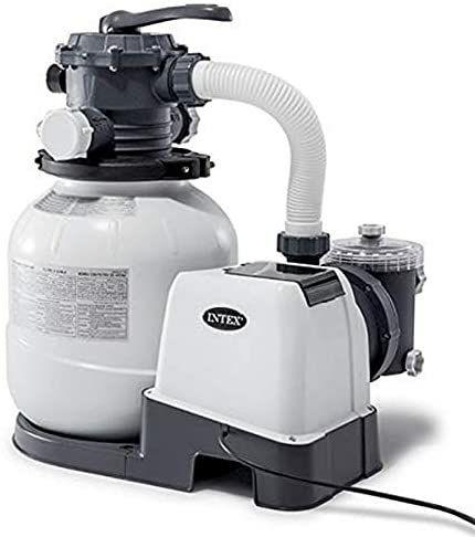 Filtre à Sable Intex - 4m3/h, Blanc