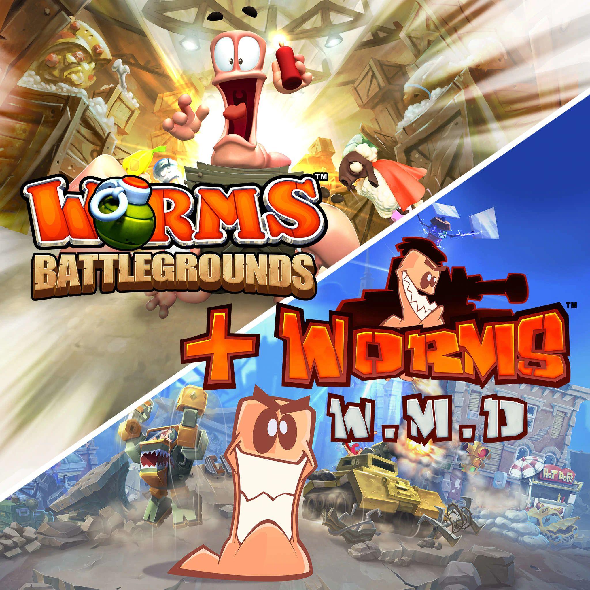 [Gold] Worms Battlegrounds + Worms W.M.D sur Xbox One/Series (Dématérialisé)