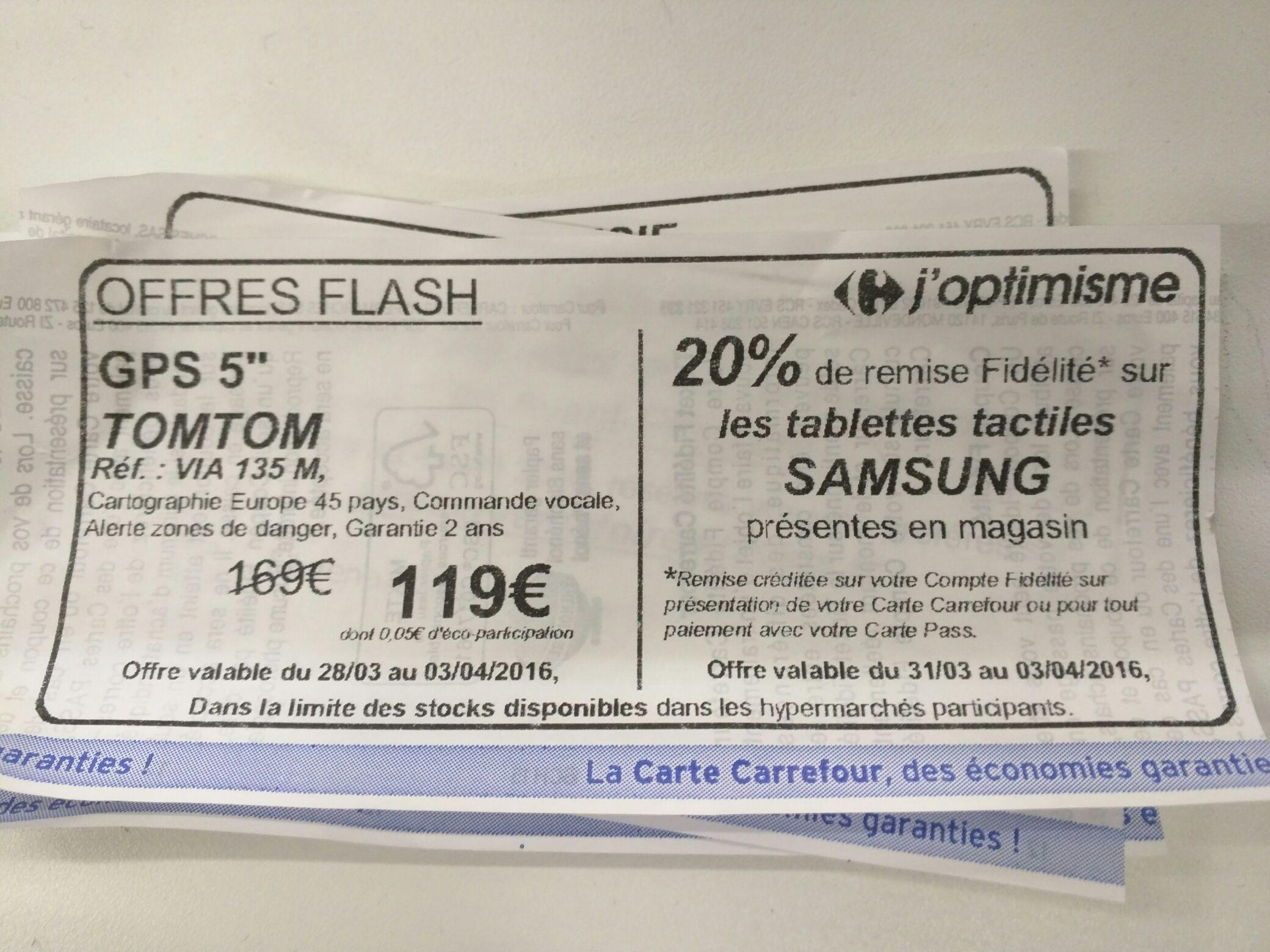 20% de remise Fidélité sur les tablettes tactiles Samsung
